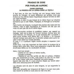 Frasas de dire per parlar alpin d'òc - André Faure