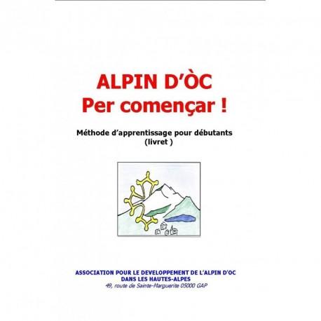 Alpin d'Oc per començar - Andrieu Faure (livre numérique)