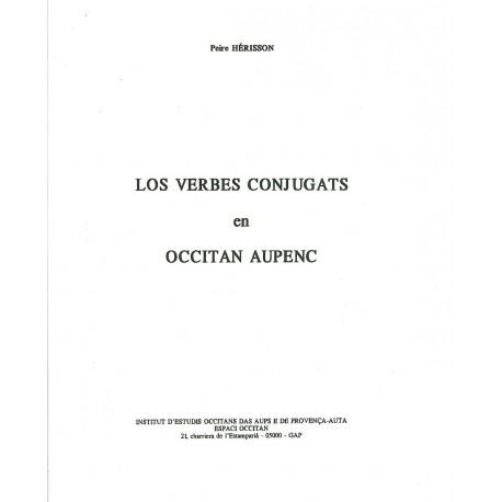 Los verbes conjugats en Alpin d'Oc - Peire Herisson - Couverture