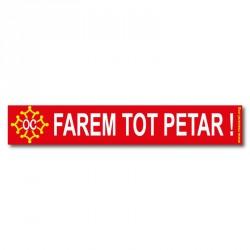 Sticker « Farem tot petar ! »