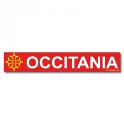 Autocollant «Occitania » (Occitanie - Occitània)