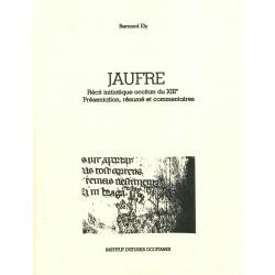 Jaufré - Récit initiatique occitan du XIIIe - Bernard Ély - Couverture