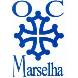 Oc Marselha - Autocollant