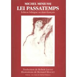 Lei passatemps - Michel Miniussi (bilingue) - Couverture