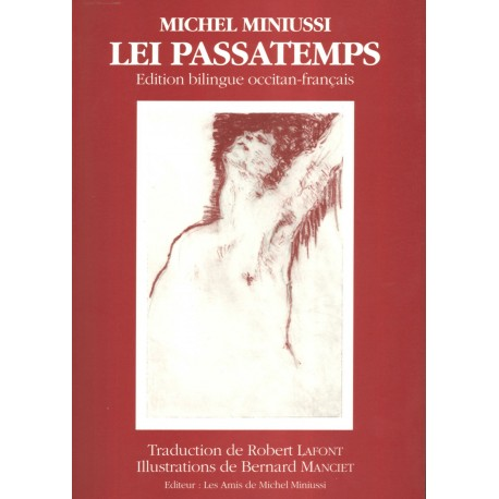 Lei passatemps - Michel Miniussi (bilingue) - Couverture