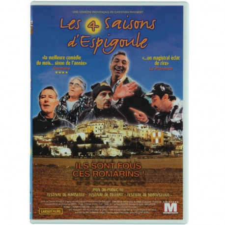 Les 4 saisons d'Espigoule - Christian Philibert (DVD)