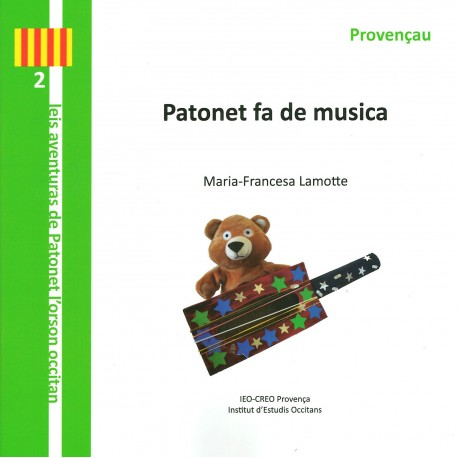 Patonet fa de musica (Provençau) - Marie-Françoise Lamotte