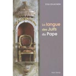 La langue des Juifs du Pape - Zosa Szajkowski