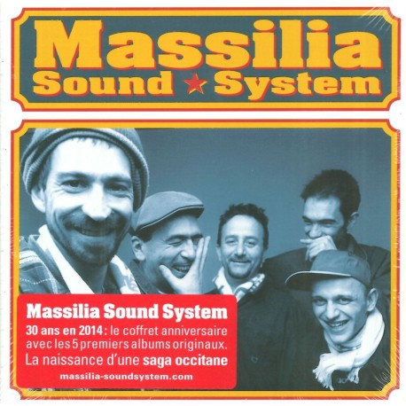 Massilia Sound System despuei 1984 – Coffret 5 CD