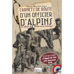 Carnets de route d'un officier d'Alpins – Un officier du XVème corps témoigne - Georges Bertrand-Vigne