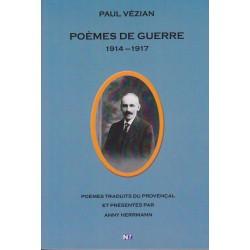 Poèmes de guerre - Paul Vézian