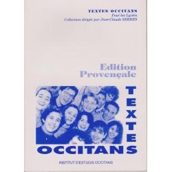 Textes occitans pour les lycées - Éd. provençale - Jean-Claude Serres