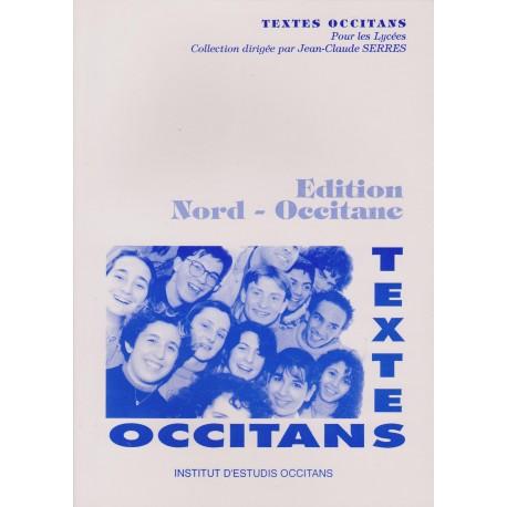 Textes occitans pour les lycées - Éd. nord occitane - Jean-Claude Serres