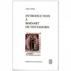 Introduction à Bernart de Ventadorn - Carl Appel