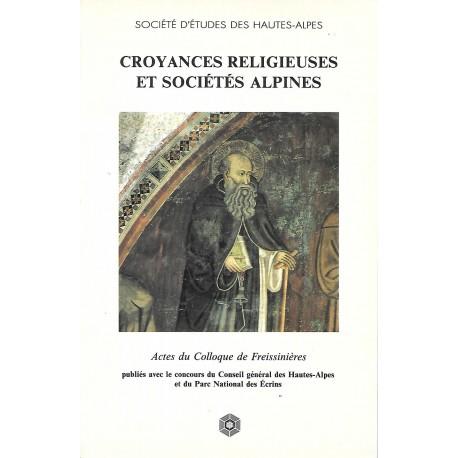 Croyances religieuses et sociétés alpines - Société d'Etudes des Hautes-Alpes