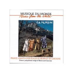 La Novem - Chants à Voix égales du Béarn et de Gascogne (CD)