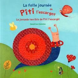 La jornada tarribla de Pitit l'esccargòl – Sandrine Lhomme (Book + CD)