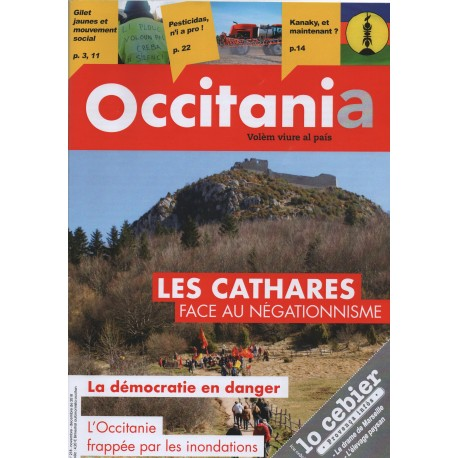 Occitania (Bilingual Magazine) - One-year subscription - Cover 218