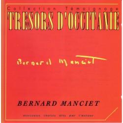 Bernard Manciet - Trésors d'occitanie (CD)