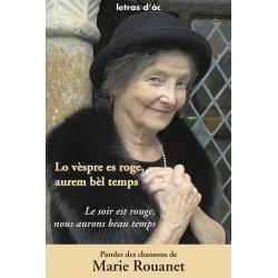 Lo vèspre es roge, aurem bèl temps - Maria Roanet
