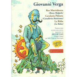 Ros Marriaborra - Cavalaria païsana - La Ròba - Giovanni Verga