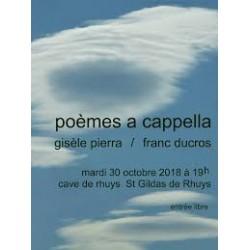 Gisèle Pierra - Poèmes a cappella