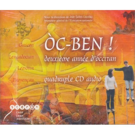 Òc-BEN - deuxième année d'occitan (CD)