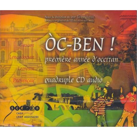 Òc-BEN - première année d'occitan (CD)