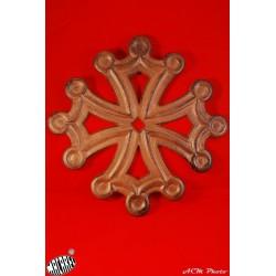 Dessous de plat Croix Occitane (fonte rouille)