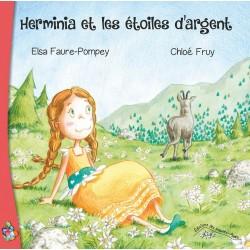 Herminia et les étoiles d'argent - Elsa Faure-Pompey - Chloé Fruy (couverture)