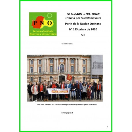 Lo Lugarn - Abonnement (1 an) - Lou Lugar, Tribuna per l'Occitània liura
