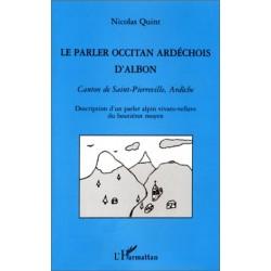 Le parler ardéchois d'Albon - Nicolas Quint