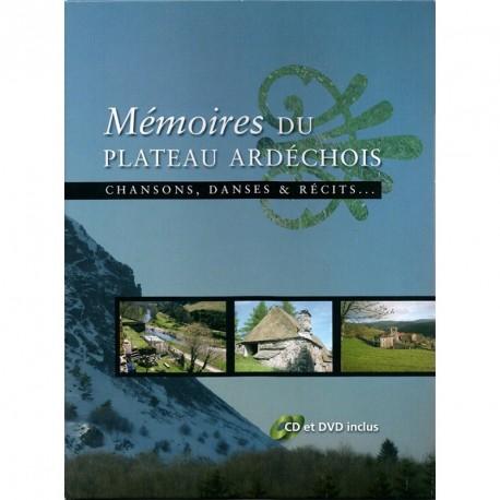 Mémoire du plateau ardéchois - Chansons, danses et récits... Patrick Mazellier
