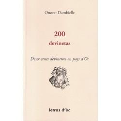 200 devinetas - Deux cents devinettes en pays d'Oc - Onorat Dambielle