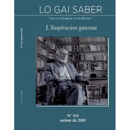 Lo Gai Saber - Abonnement (1 an) - Cover 2019
