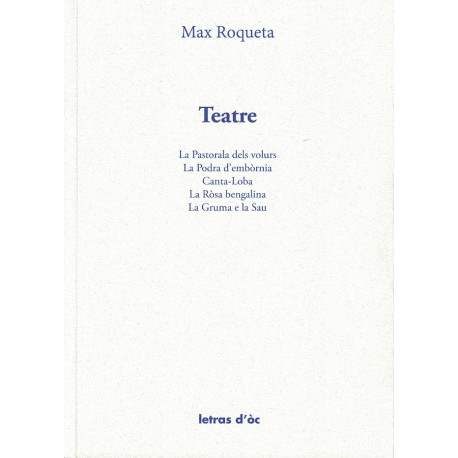 Teatre - Max Roqueta