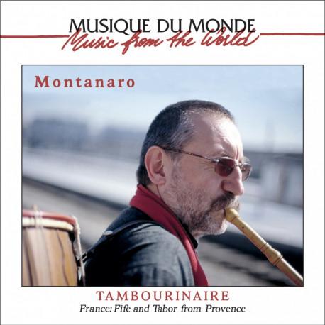 Tambourinaire - MONTANARO (CD)