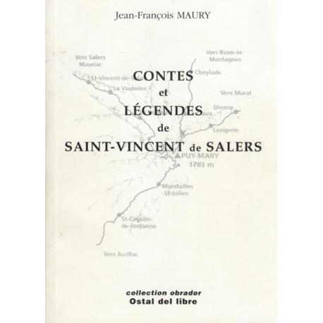 Contes et légendes de Saint-Vincent de Salers - Jean-François Maury