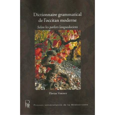 Dictionnaire grammatical de l'occitan moderne - Florian Vernet (édition 2020)