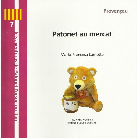 Patonet au mercat (Provençau) - Marie-Françoise Lamotte