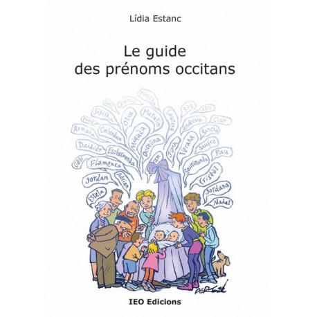 Le guide des prénoms occitans - Lídia Estanc - Cover