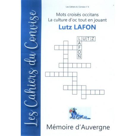 Cahier du Convise n°6 : Mots croisés de Lutz (Lucienne Lafon)