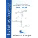 Cahier du Convise n°6 : Los mots crosats de Lutz (Lucienne Lafon)