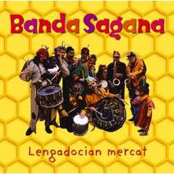 Lengadocian mercat - Banda Sagana (CD)