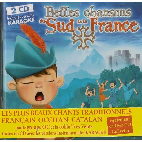 Belles chansons du Sud de la France (CD)