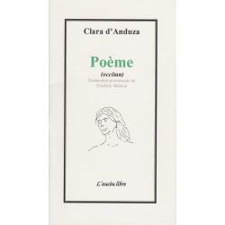 Poème (occitan) - Clara d'Anduza