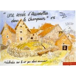 «Une année d'Aquarelles dans le Champsaur» n° 6 - Alexis Nouailhat