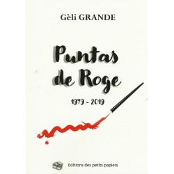 Puntas de Roge (1979 - 2019) - Gèli GRANDE